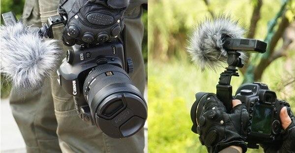 Fotga Heavy Duty Photo Vid/éo L support avec 2 Hot Shoe standard Support pour lumi/ère de la cam/éra