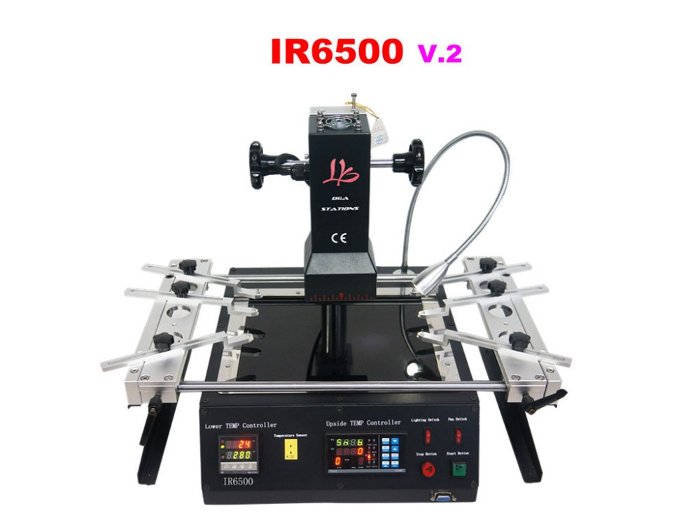 Infrared BGA Rework machine LY IR6500. IR Rework System.Infrared soldering station with BGA accessories