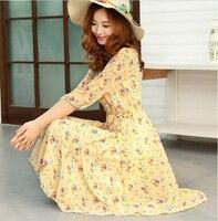платье лето весна, и женщины получает bog вето повар соус Tale д, печать на вето - в форме платья
