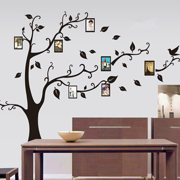 1PC Photo Frame Family Tree Wall Decal&Vinyl Wall Art Decals ...