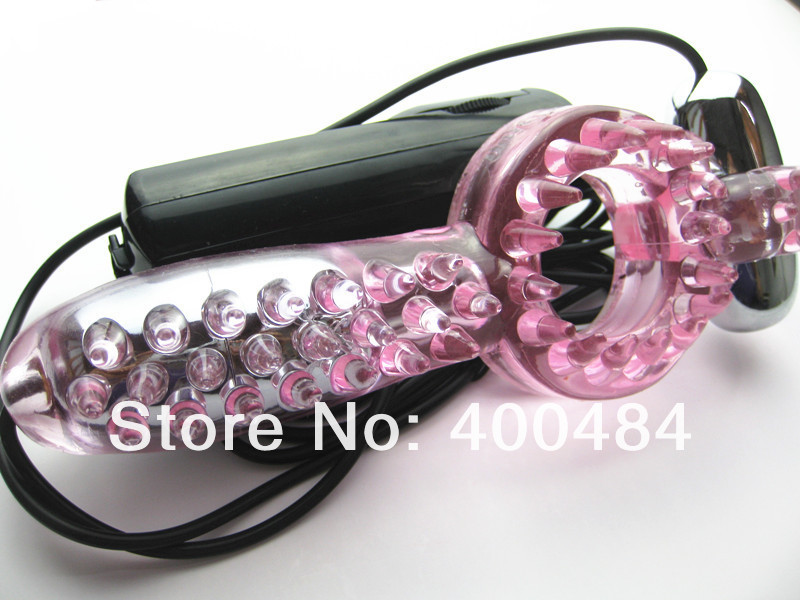 Stretchy Penis Ring Cock Ring w/ Pleasure Ticklers Clitoris Testicle Teaser Stimulator Dual Vibrator Adult Sex Toys YCBI-014054 5