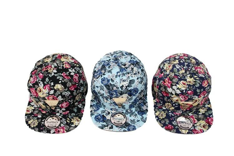 2014 New Hater Series Floral Script Diamond Bone Snapback Hats Men ... 2d52a3c1711f
