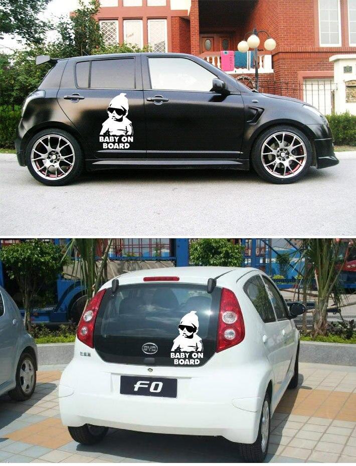 New Design Baby On Board Carlos Hangover Funny Car Vinyl Sticker - Vinyl auto decals custom