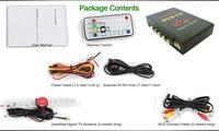 бесплатная доставка m689 в авто полный HD цифровой коробка сек.264 и MPEG4 60 км / час и HDMI выход + + ТВ антенна русский / франция / великобритания