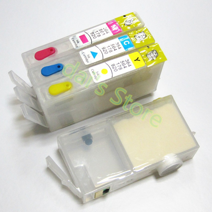 4 cores para hp deskjet 3525 4615 4625 5525 6525 impressora