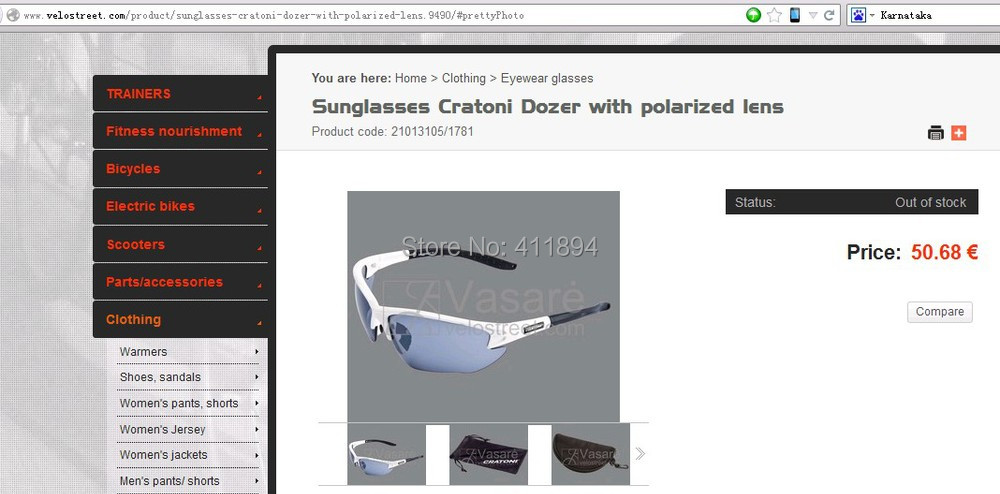 b3e602fa219b 2 lentes de sol Cratoni Dozer con lente polarizada ciclo Bike ...