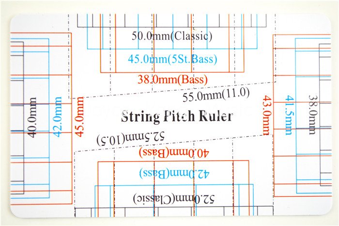 photograph relating to String Action Gauge Printable referred to as US $1.99 Acoustic/Clical/Electric powered Guitar B String Pitch Ruler Gauge String Phase Card Measuring Guitar Luthier Instrument Absolutely free Delivery-within Guitar