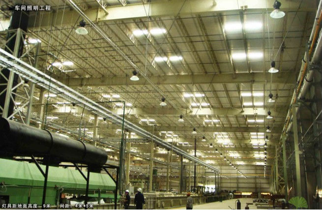 High Led Bay Lights 80w With Ce And Rohs Work Factory Lighting Cool White Color