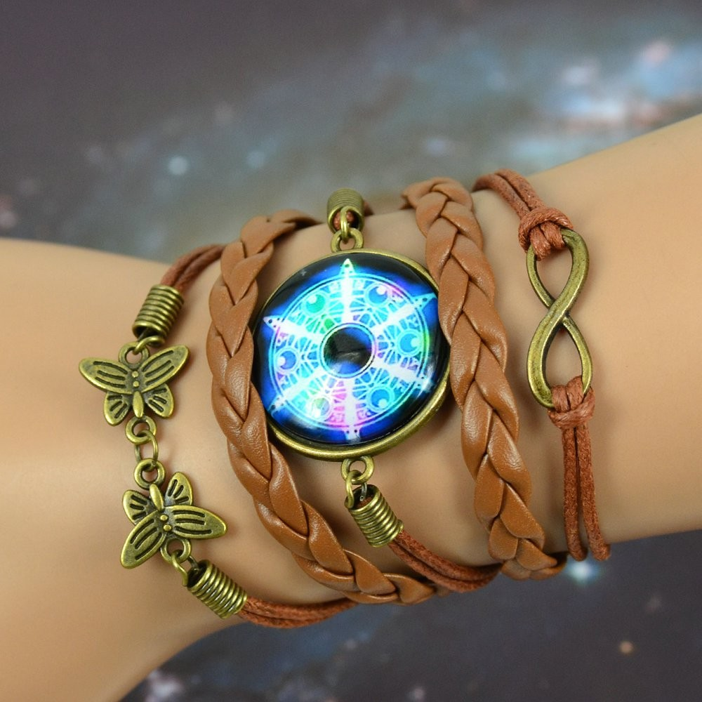 Multilayer Braided Infinity Bracelet