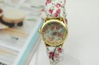 новый мода часы повар пос кварцевые часы множеством цветов ткань группы наручные часы veto ткань часы женщины одеваются часы