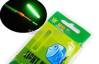 100 х высокое качество химических светится зеленым цвет светящиеся палочки поплавок для рыбалки специальное предложение