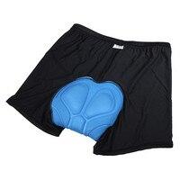 1 шт. бесплатная доставка мужская мужчин женщин на велосипеде короткие силиконовые подушки велосипедные шорты с 3D хлопка-ватник нижнее белье