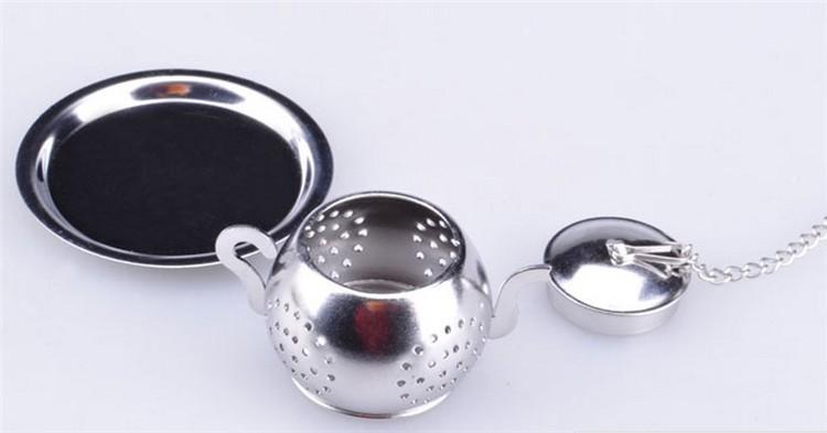 2 шт./лот портативный нержавеющей стали чайник для заварки сетки бал многоразовые фильтр травяные специи чай фильтры чайник форма размер 3.5 * 2.5