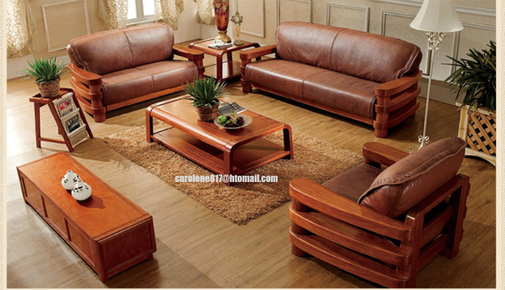 high quality super soft f brown low back china office solid wooden ...