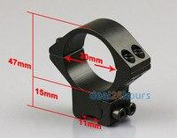 2 х средних профиля 30 мм кольца ласточкин хвост 11 мм дин-рейке для лазер / фонарик бесплатная доставка