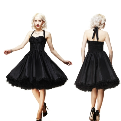 New Look Plum Size 16 Floral Skater Rockabilly Jersey Dress Online
