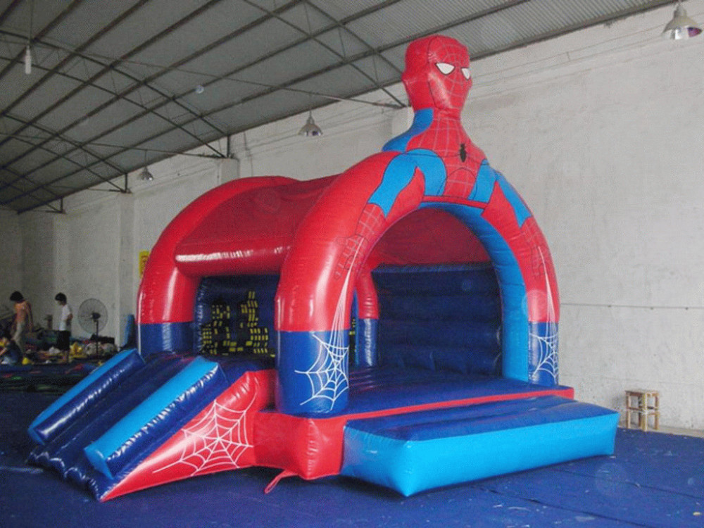 inflatable-bouncers spider man