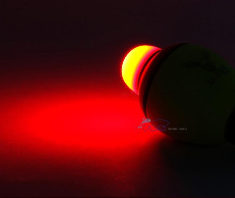 13 electronic night fishing float eva light effect