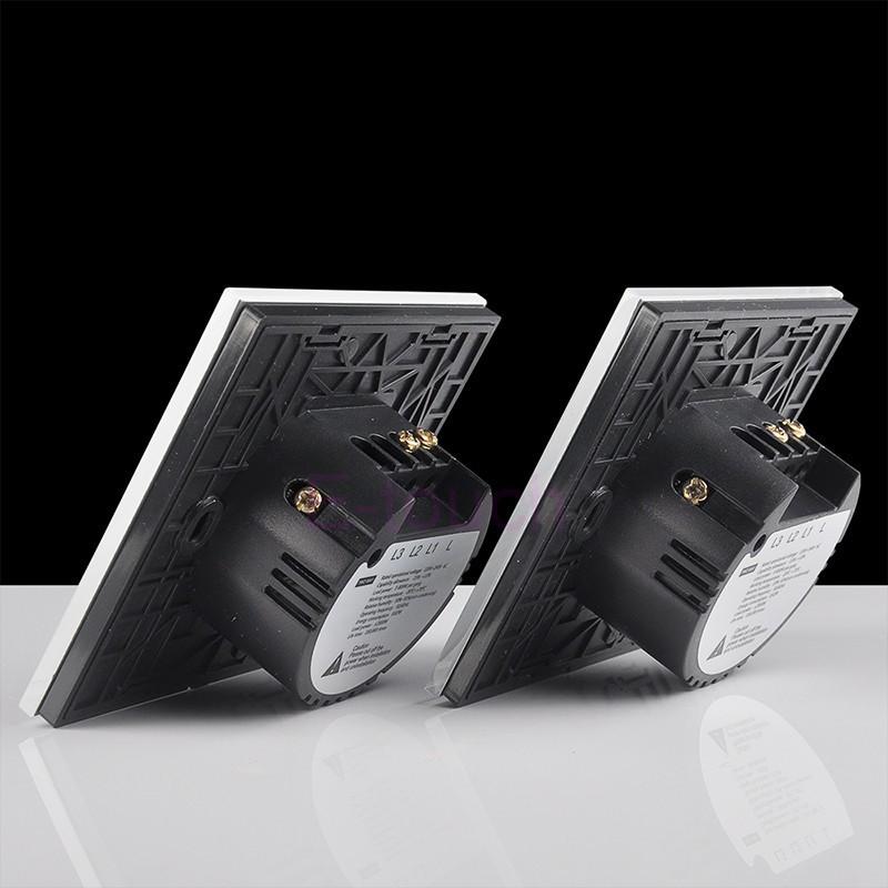 перейти белый умный дом датчик стены и выключатель света 1 группа 2 разъём с из светодиодов индикатор