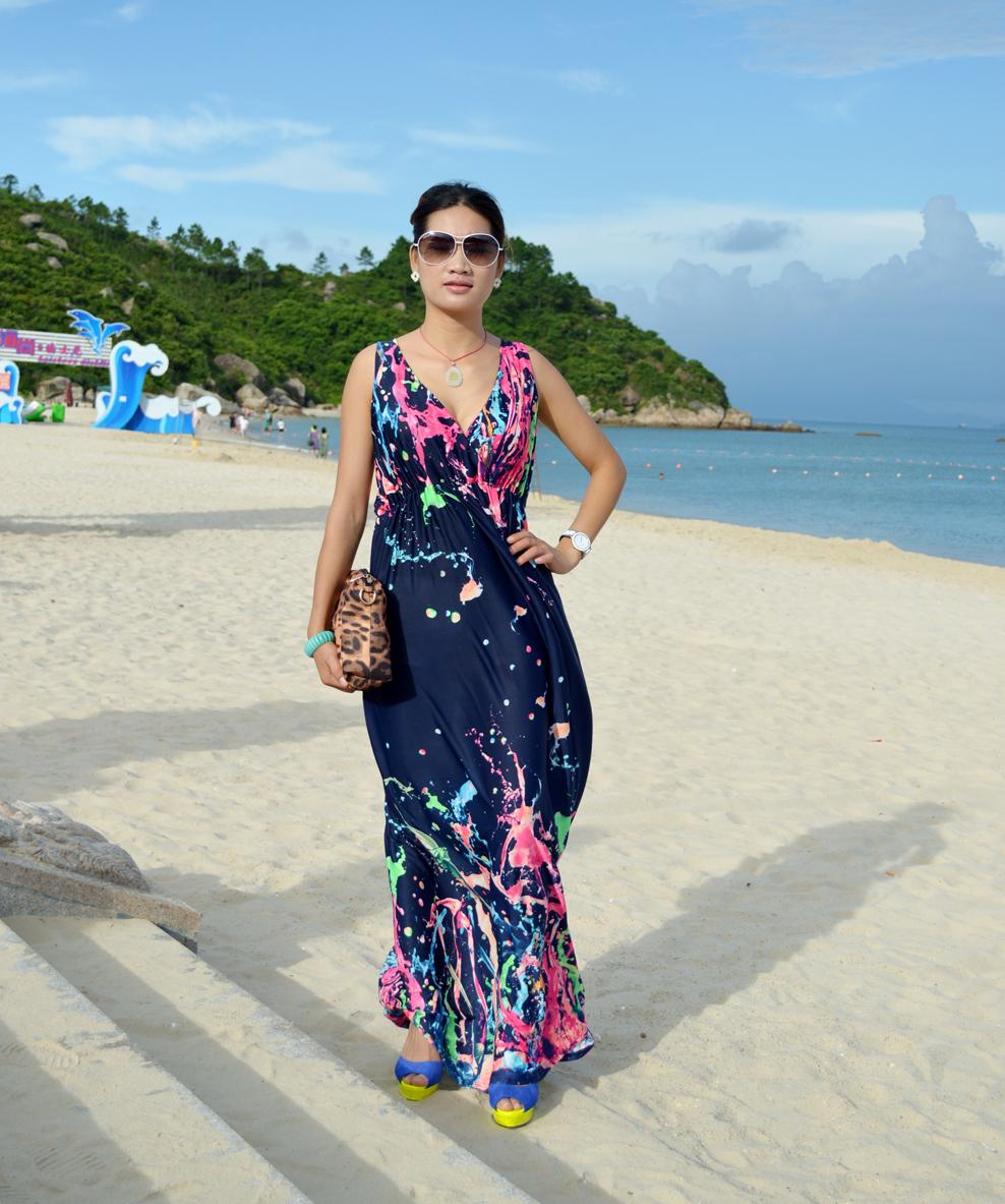 Lady plus size dresses