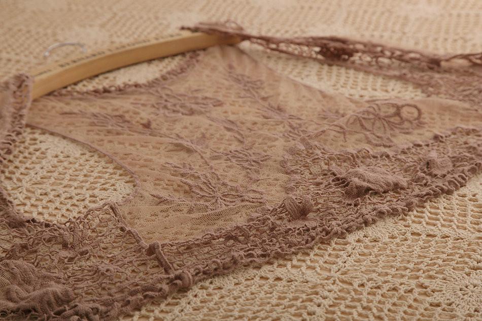 526 новая коллекция весна крючком верхняя одежда кружева пальто и рубашки блузка для дамы без рукавов с коротким дизайн кардиган
