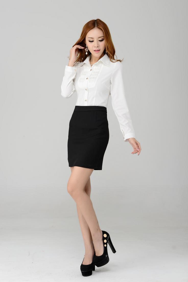Vestimenta formal mujer falda
