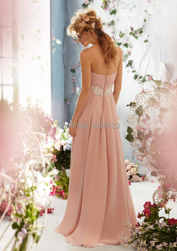 28444aaba04 Pink Bridal Shower Dress for the Bride Beach Chiffon Beaded Sashes  Sweetheart Off the Shoulder Floor Length Free Shipping WB794 .jpg.  794.1.jpg 794.2.jpg ...