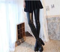 распечатать средняя атлас хлопок женщины леггинсы кожа стиль женщины брюки женское брюки Seal Crash гимнастика одежда женщина