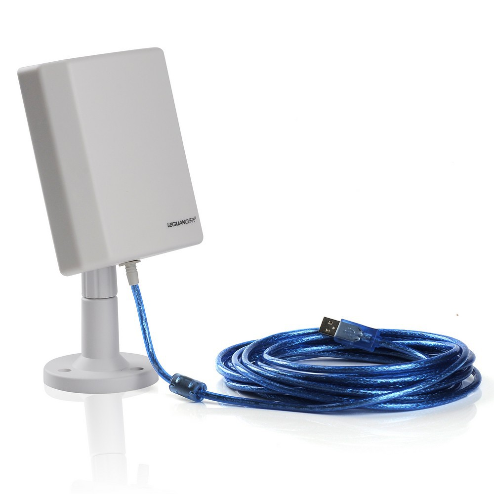 Long Distance USB WiFi Antenna Indoors and Outdoors Wireless up to 3000m Away Hot Spots
