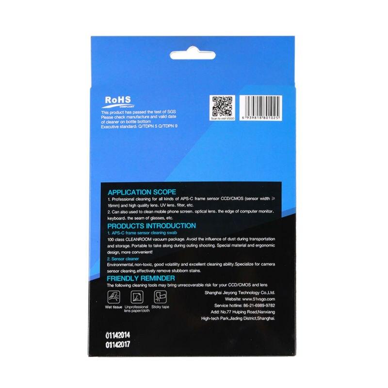 APS-C DSLR מצלמה חיישן CCD/CMOS ספוגית ניקוי kit Canon eos 1100d 600d ניקון d3100 d5100