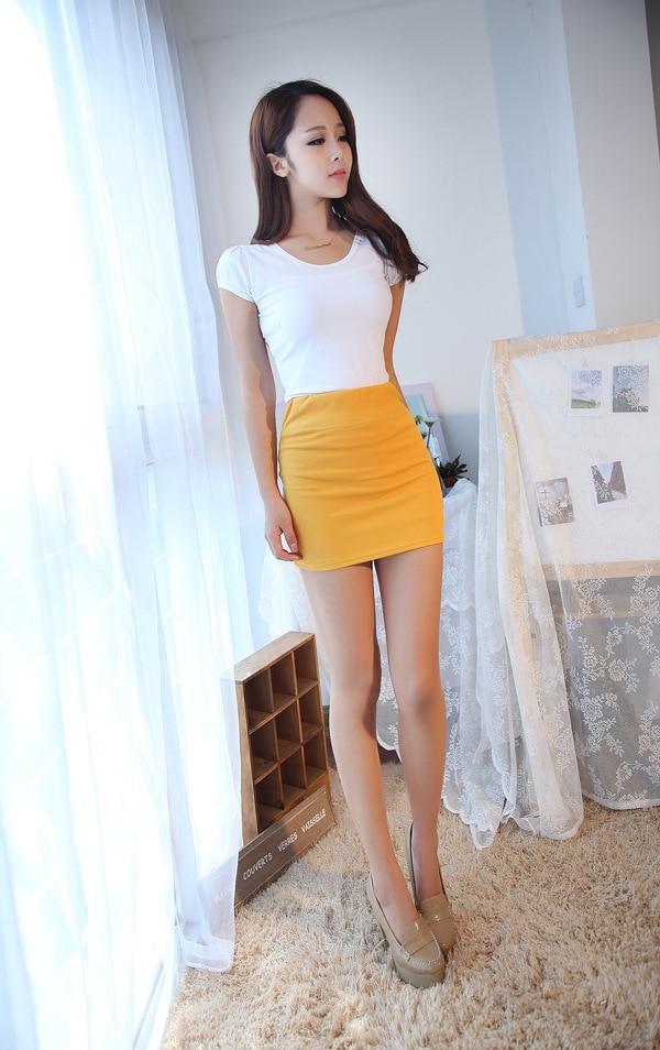 китаянки в кружевных мини юбки длинные ноги красиво - 14
