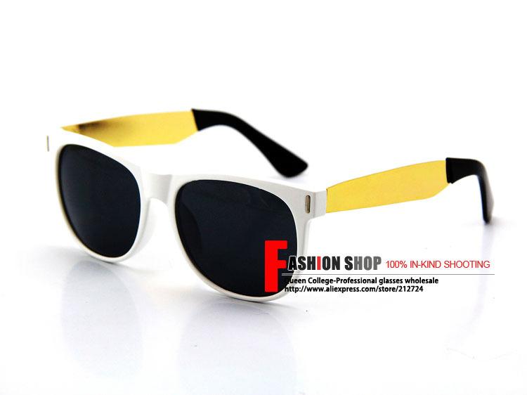 роза дизайн бренда высокое качество ретро очки мужчин супер черный и золотой моды классические солнцезащитные очки солнечные очки uv400 qc0069
