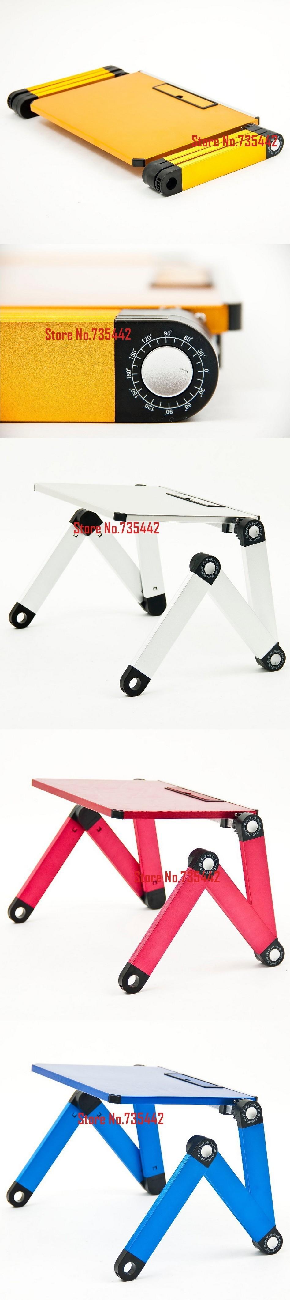 Т3 красный СД украл для ноутбука Squad стол ноутбук стол график доске стоять officestandtable