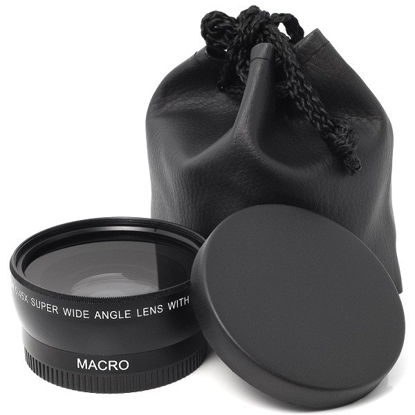55mm wide angle lens