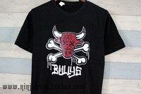 летом с коротким рукавом футболка пародия иордания быки 23