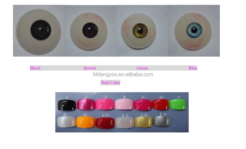 eyes & nairl color