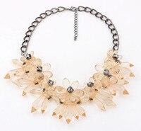 новинка ожерелье за ожерелье женщин бренд себе ожерелье акриловые ожерелья подвески свадебные ювелирные изделия ожерелья