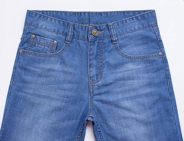бесплатная доставка новая коллекция весна и лето высокого класса прямые Ton модель мужские джинсы