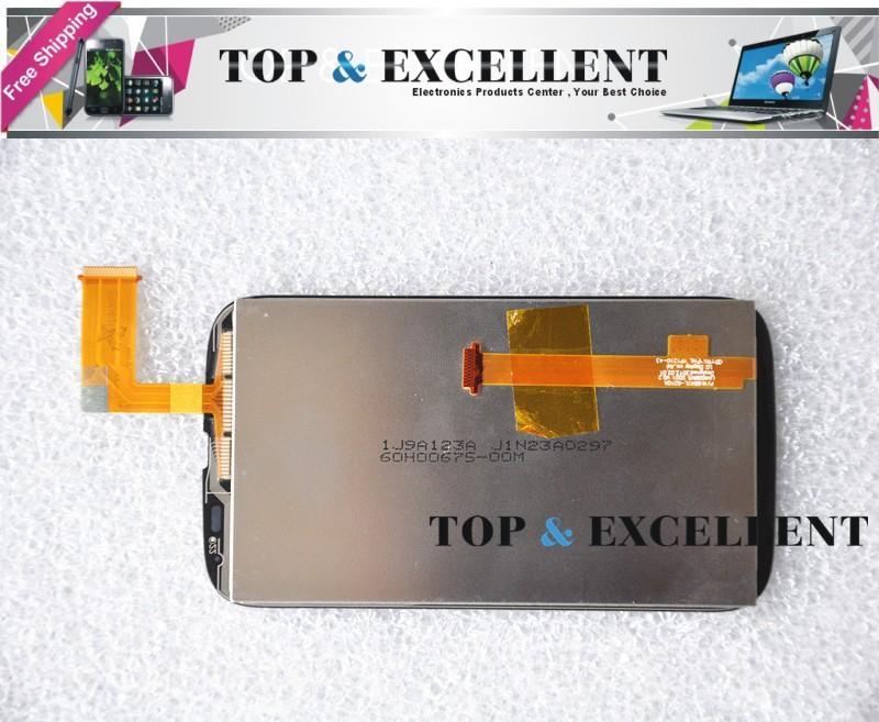 """4, 0 """" мобильный телефон передний жк-дисплей + сенсорный экран планшета стекло с логотипом для компании HTC t328w желание V с черный + инструмент"""