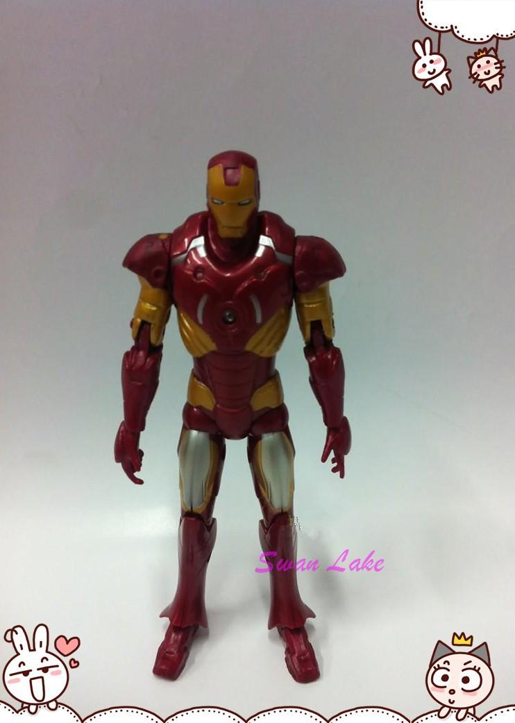 серия из 3 стиль пвх 6 дюймов чудо человек гелей фигурку superhero продажи человек Тони марк цифры игрушка куклы Рождественский подарок