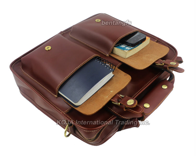 US $100 0 30% OFF|Fashion High Class Men Genuine Leather Shoulder Bag men  Messenger Bag male crossbody bag 12~14