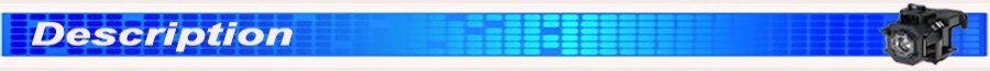 Reposição Compatível Projector Lamp Lâmpadas NP16LP para
