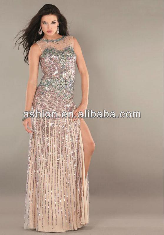 373ad6acf7 ED-1712 Sheer high neck heavy hand work pakistani dresses dubai dress ...