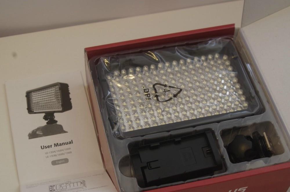 фотографическое освещение стрелять горячие Сид-168 из светодиодов видео 168 светод. для камеры с DV-видеокамеры