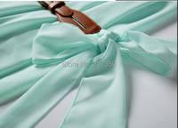 давайте новый женская платье мода ЗР режиме off-плечи свободного покроя пр с ремень мода Blur ну watering супер повар высокое качество