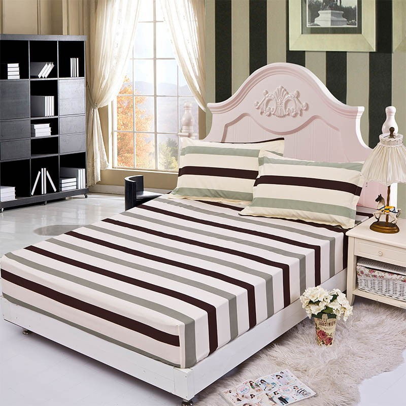 Home textile bed sheet sheet flower mattress cover printing bed sheet elastic rubber bedclothes 180*200cm summer bedspread band 15