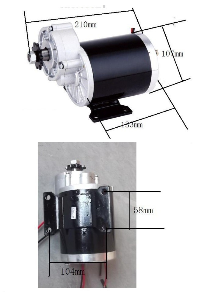 elétrico do motor da escova, motor escovado