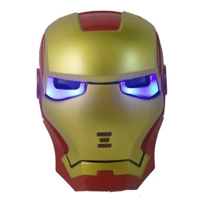 2 шт. / много железо человек маска для дети с лампа ЛГ ну для полива