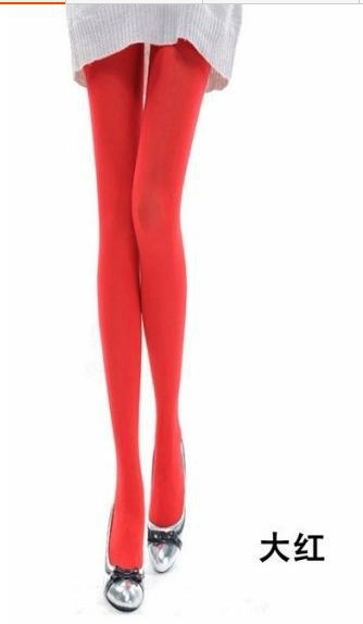 Candy color tights-4