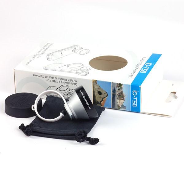 20 шт./лот veentook осино 5х клип - на телеобъектив объектив для мобильного телефона для iPhone 3 г 4 4S и 5 для i9300 9100 бесплатная доставка